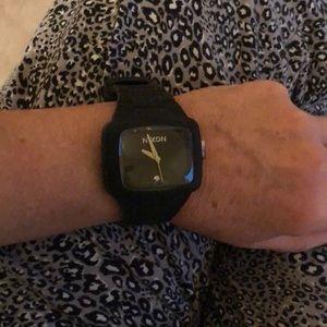 Nixon stainless steel women's watch